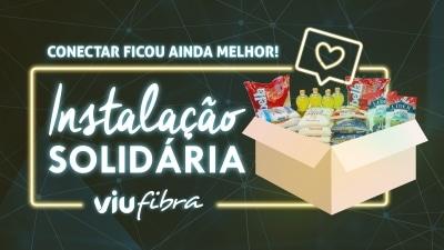 Instalação Solidária: Viu lança nova promoção