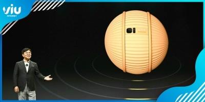 Samsung apresenta o Ballie, um simpático robô em forma de bolinha